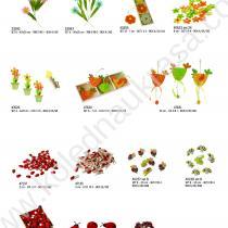 цветя, саксия, кокошка, калинки, щипки, игли