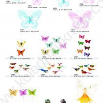 красиви пеперудки и птички