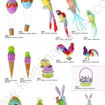 папагали, парашути, петлета, торта - играчки за Великден
