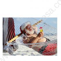 Дядо Коледа на плажа