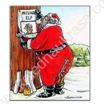 дядо Коледа си търси елфа:)