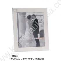 рамка за сватбена снимка с панделка