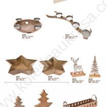 дървени коледни играчки