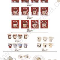 Коледни свещници, чаши, подноси