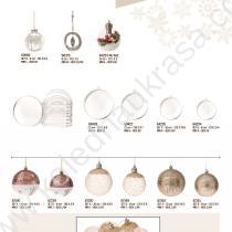 топки за Коледа с декорация и украса